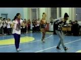 Танцевальный марафон в 28 школе 28 февраля. Ярославль. Академия современного танца Котельниковой.